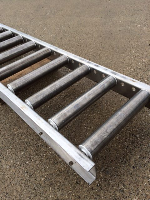 Stainless Roller Conveyor Surplus 12 Quot Wide Bay